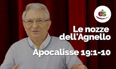 Le nozze dell'Agnello Apocalisse 19:1-10